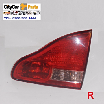 TOYOTA AVENSIS MPV VERSO MODELS 2001 TO 2005 DRIVER SIDE INNER REAR LAMP LIGHT